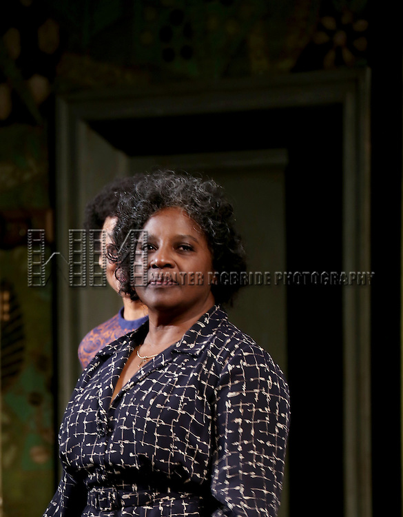 "LaTanya Richardson during the Broadway Opening Night Curtain Call for  ""A Raisin In The Sun""  at the Barrymore Theatre on April 3, 2014 in New York City."