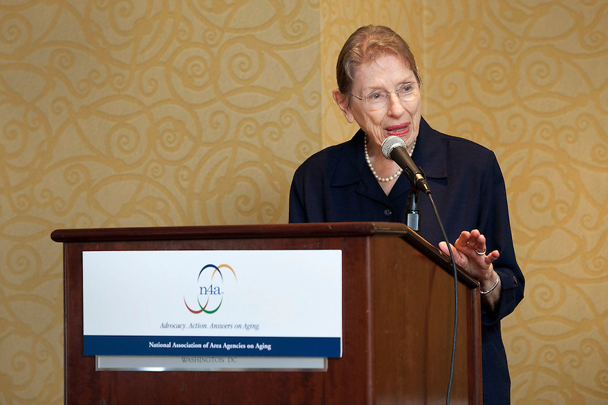 Gold honoree LaVerne Gordon at the Older Volunteers Enrich America Awards at the Double Tree Hotel in Washington, DC on Friday, June 17, 2011.