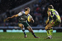 Gonzalo Camacho of Leicester Tigers in possession. Aviva Premiership match, between Leicester Tigers and Sale Sharks on February 6, 2016 at Welford Road in Leicester, England. Photo by: Patrick Khachfe / JMP