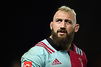 Joe Marler of Harlequins looks on after the match. Aviva Premiership match, between Harlequins and Sale Sharks on October 6, 2017 at the Twickenham Stoop in London, England. Photo by: Patrick Khachfe / JMP