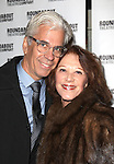 Steve Bakunas and Linda Lavin attending the Broadway Opening Night Performance of 'The Mystery of Edwin Drood' at Studio 54 in New York City on 11/13/2012