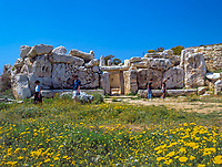 Malta, Qrendi: Mnajdra Tempel | Malta, Qrendi: Mnajdra Temple