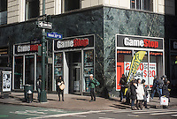 A Gamestop video game store in the Herald Square shopping district in New York on Monday, February 18, 2013. (© Richard B. Levine)
