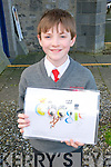 Doogle for Google : Cian Keenen a pupil at Dromclough NS who will take part in the Doogle for Google competition.