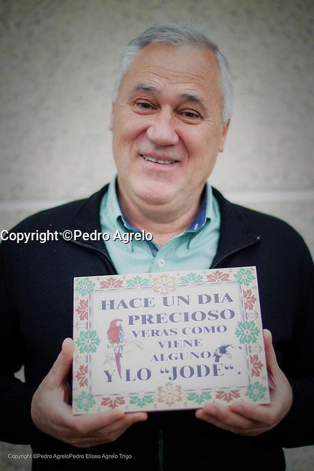 Fecha: 13-01-2016.- Lugo.- Entrevista para ABC.- Alcalde de Becerra Manuel Martinez antiguo PSOE y ahora grupo mixto de la Diputacion de Lugo