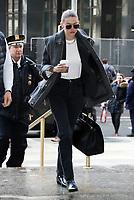 JAn 16 Gigi Hadid Arrives To Manhattan Supreme Court