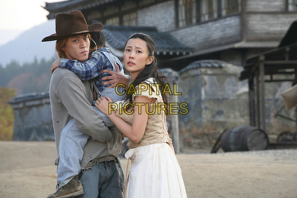 SHUN OGUN & YOSHINO KIMURA.in Sukiyaki Western Django.*Filmstill - Editorial Use Only*.CAP/FB.Supplied by Capital Pictures.