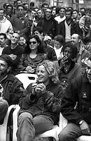 """Roma.Centro Sociale occupato """"Forte Prenestino"""".Assemblea pubblica.Rome.Centro Sociale """"Forte Prenestino"""".Public Assembly"""