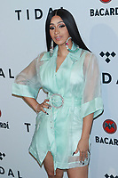 NEW YORK, NY - OCTOBER 17:  Cardi B at TIDAL X: Brooklyn – 3rd Annual Benefit Concert at Barclays Center on October 17, 2017 in New York City. Credit: Diego Corredor/MediaPunch /NortePhoto.com