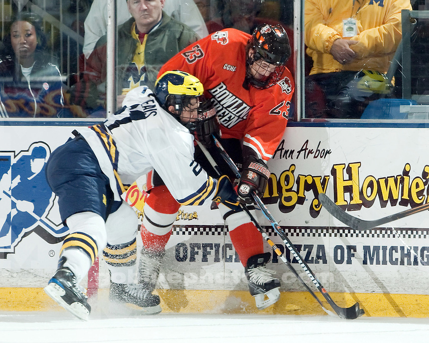 11/20/09 U-M vs. BGSU ice hockey at Yost Ice Arena.  U-M lost 4-2.