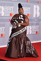 Lizzo<br /> arriving for the BRIT Awards 2020 at the O2 Arena, London.<br /> <br /> ©Ash Knotek  D3555 18/02/2020