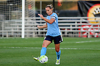 Piscataway, NJ - Wednesday Sept. 07, 2016: Christie Rampone during a regular season National Women's Soccer League (NWSL) match between Sky Blue FC and the Orlando Pride FC at Yurcak Field.