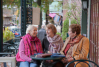Friends at the Lambertville House Cafe, Lambertville, New Jersey