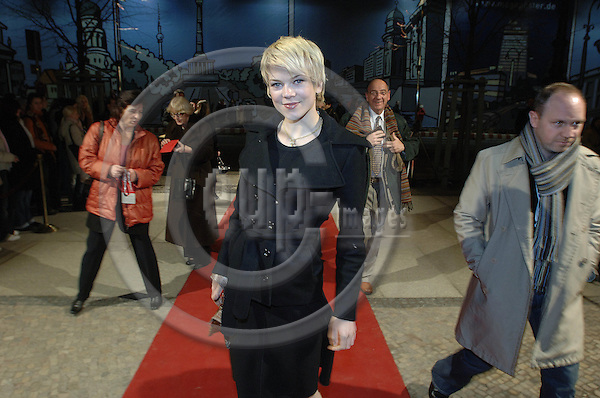 """BERLIN - GERMANY 12. FEBRUARY 2006 -- Berlin Filmfestival  -  Berlinale 2006   - EFP Shooting Star 2006 -  Ane Dahl Torp, Norway -- PHOTO: GORM K. GAARE / EUP- IMAGES..This image is delivered according to terms set out in """"Terms - Prices & Terms"""". (Please see www.eup-images.com for more details)"""