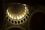 The Sacre Coeur Basilica in Paris, France. Inside View