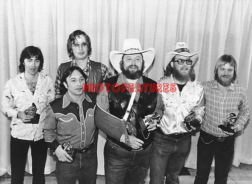 Charlie Daniels Band 1980 Grammy Awards.© Chris Walter.
