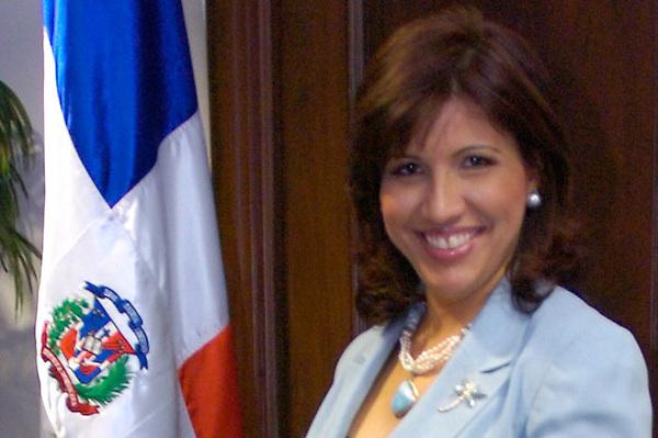 Margarita Cedeño de Fernandez, primera dama de la Republica Dominicana.Lugar:Santo Domingo, RD.Foto:Cesar de la Cruz.Fecha:.