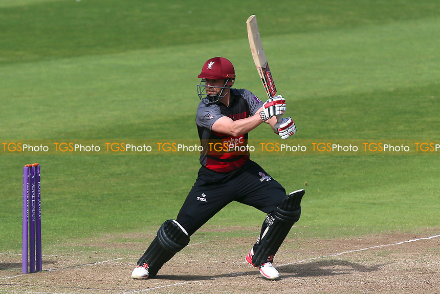 James Hildreth in batting action for Somerset during Somerset vs Essex Eagles, Royal London One-Day Cup Cricket at The Cooper Associates County Ground on 14th May 2017