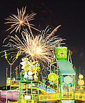 19 July 2008 - Fireworks display above NRH2O Family Water Park in North Richland Hills TX