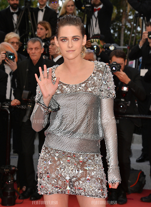 Kristen Stewart at the gala screening for &quot;BLACKKKLANSMAN&quot; at the 71st Festival de Cannes, Cannes, France 14 May 2018<br /> Picture: Paul Smith/Featureflash/SilverHub 0208 004 5359 sales@silverhubmedia.com