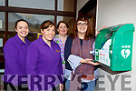 Rosemary Falvey manager (right) of Bellview Creche Killarney who have installed a defibilator outside their premises with l-r: Maura Leane, Samantha O'Shea, Margaret Scannell