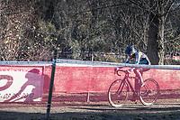 Laura Verdonschot (BEL/Marlux-Napoleon Games)<br /> <br /> <br /> women's elite race<br /> Flandriencross Hamme / Belgium 2017