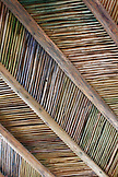 USA; New Mexico; Taos; The Mabel Dodge Luhan House ceiling detail
