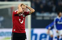 FUSSBALL   1. BUNDESLIGA   SAISON 2012/2013    18. SPIELTAG FC Schalke 04 - Hannover 96                           18.01.2013 Konstantin Rausch (Hannover 96) ist enttaeuscht