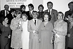 Adolph Green, Betty Comden, Al Pacino, Jerry Herman, Burgess Meredith, Susan Strassberg, Angela lansbury, Lillian Gish, Carol Channing, Ethel Merman, Princess Grace Kelly and Ellen Burstyn attend the Theatre Hall Of Fame Awards held on March 28, 1982 at the Uris Theater, now called the Gershwin Theater, New York City.