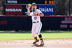 17 February 2017: Notre Dame's Katie Marino. The Notre Dame Fighting Irish played the University of Minnesota Golden Gophers at Dail Softball Stadium in Raleigh, North Carolina as part of the ACC/Big 10 College Softball Challenge. Minnesota won the game 4-1