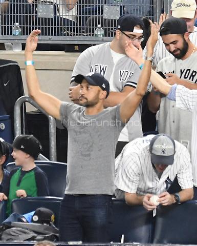 NEW YORK, NY - October 8 : Keegan-Michael Key at Yankee Stadium during game 3 of the ALDS on October 8,2017 Bronx New York . @John Palmer / Media Punch