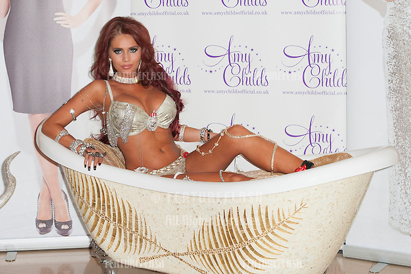 Amy Childs launches the Mikey range of jewellery at the Millennium Hotel Grosvenor Square, London. 24/10/2012 Picture by: Simon Burchell / Featureflash