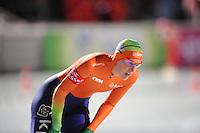 SCHAATSEN: BOEDAPEST: Essent ISU European Championships, 06-01-2012, 3000m Ladies, Ireen Wüst NED, ©foto Martin de Jong