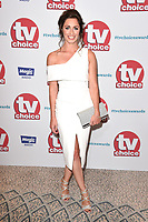 Julia Goulding<br /> arriving for the TV Choice Awards 2017 at The Dorchester Hotel, London. <br /> <br /> <br /> &copy;Ash Knotek  D3303  04/09/2017