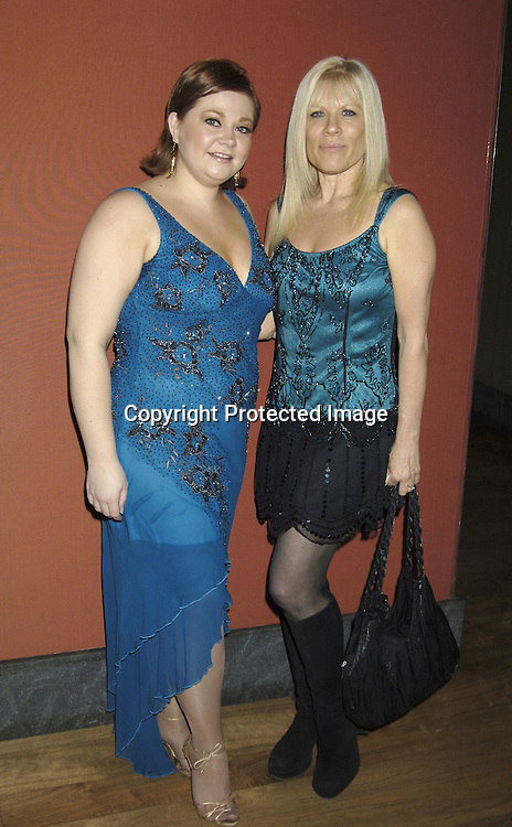 """Kathy Brier and Ilene Kristen  ..at The Opening Night Party for the Musical """"A Broadway Diva Christmas"""" on December 4, 2005 at The Biltmore. ..Photo by Robin Platzer, Twin Images"""