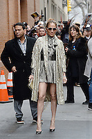 www.acepixs.com<br /> March 1, 2017 New York City<br /> <br /> Jennifer Lopez made an appearance on 'The View' in New York City on March 1, 2017.<br /> <br /> Credit: Kristin Callahan/ACE Pictures<br /> <br /> Tel: 646 769 0430<br /> Email: info@acepixs.com<br /> www.acepixs.com