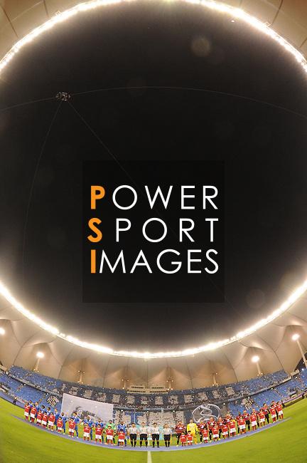 Al Hilal (KSA) vs Western Sydney Wanderers (AUS) during the 2014 AFC Champions League Final  2nd Leg match on 01 November 2014 at King Fahd International Stadium, Riyadh, Saudi Arabia.  Photo by Stringer / Lagardere Sports