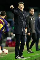 Celta de Vigo's coach Juan Carlos Unzue during Spanish Kings Cup match. January 4,2018. (ALTERPHOTOS/Acero)