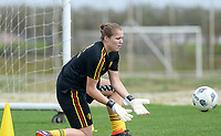 20180304 - LARNACA , CYPRUS :  Belgian Justien Odeurs pictured during a Matchday -1 training from The Belgian Red Flames prior to their game against Austria , on Sunday 4 March 2018 at the Alpha Sports Grounds in Larnaca , Cyprus . This will be the third game in group B for Belgium during the Cyprus Womens Cup , a prestigious women soccer tournament as a preparation on the World Cup 2019 qualification duels. PHOTO SPORTPIX.BE | DAVID CATRY