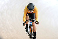 Max Williams of East Coast North Island competes in the U17 Boys Sprint race  at the Age Group Track National Championships, Avantidrome, Home of Cycling, Cambridge, New Zealand, Friday, March 17, 2017. Mandatory Credit: © Dianne Manson/CyclingNZ  **NO ARCHIVING**