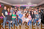 KEY TO THE DOOR: Fiona O'Shea, Ballymac (seated 5th left) enjoying a great time celebrating her 21st birthday with family and friends at the Abbey Inn, Tralee on Sunday.