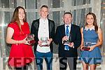 Kerry Athletics Awards Night: Pictured at the Kerry Athletics Awards night at the Listowel Arms Hotel on Saturday night last were Aoife Doyle, Jason Foley, Denis Finnegan representing his son Denis & Shona Heaslip.
