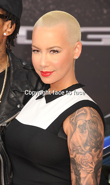 UNIVERSAL CITY, CA- MAY 21: Model Amber Rose arrives at the 'Fast & The Furious 6' - Los Angeles Premiere at Gibson Amphitheatre on May 21, 2013 in Universal City, California...Credit: Mayer/face to face..- No Rights for USA, Canada and France -