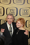 "One Day At A Time - Bonnie Franklin and Pat Harrington is honored with Innovator Award at the 10th Anniversary of the TV Land Awards on April 14, 2012 to honor shows ""Murphy Brown"", ""Laverne & Shirley"", ""Pee-Wee's Playhouse"", ""In Loving Color"" and ""One Day At A Time"" and Aretha Franklin at the Lexington Armory, New York City, New York. (Photo by Sue Coflin/Max Photos)"