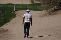 Ashun Wu (CHN) walking back down the 8th during Round 1 of the Abu Dhabi HSBC Championship 2020 at the Abu Dhabi Golf Club, Abu Dhabi, United Arab Emirates. 16/01/2020<br /> Picture: Golffile | Thos Caffrey<br /> <br /> <br /> All photo usage must carry mandatory copyright credit (© Golffile | Thos Caffrey)