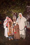 Sutter Creek's annual interfaith Procession of Las Posadas down the side streets and Main Street of Sutter Creek on a winter's evening.<br /> <br /> Las Posadas symbolizes the trials which Mary and Joseph endured before finding a place to stay where Jesus could be born, based on the passage in the New Testament, the Gospel of Luke, 2:1-9.