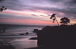 Sunset at Big River, Mendocino, California
