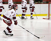 Liza Ryabkina (Harvard - 3) - The Harvard University Crimson defeated the Boston College Eagles 5-0 in their Beanpot semi-final game on Tuesday, February 2, 2010 at the Bright Hockey Center in Cambridge, Massachusetts.