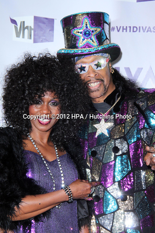 LOS ANGELES - DEC 16:  Patti Collins, Bootsy Collins arriving at the VH1 Divas Concert 2012 at Shrine Auditorium on December 16, 2012 in Los Angeles, CA