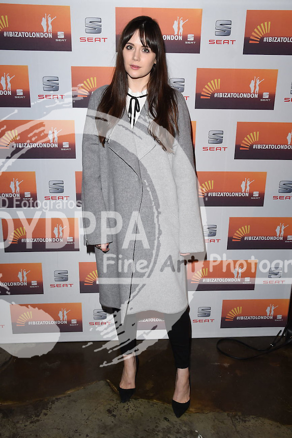 Lilah Parsons<br /> attends the SEAT Ibiza launch party at Carousel, London<br /> <br /> &copy;Ash Knotek  D3019  29/09/2015
